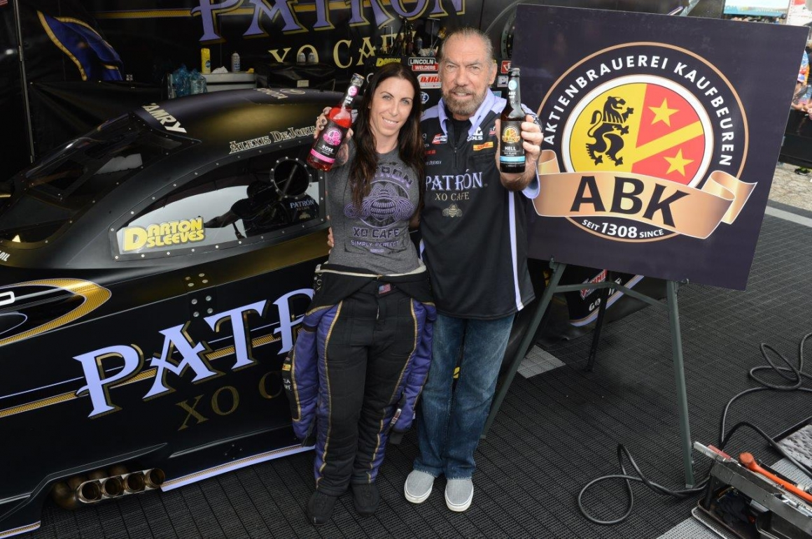 Alexis & John Paul DeJoria with ABK